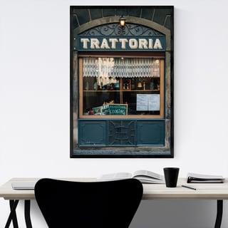 Noir Gallery Bergamo Italy Photography Framed Art Print