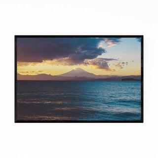 Noir Gallery Mt. Fuju Photo Landscape Japan Framed Art Print