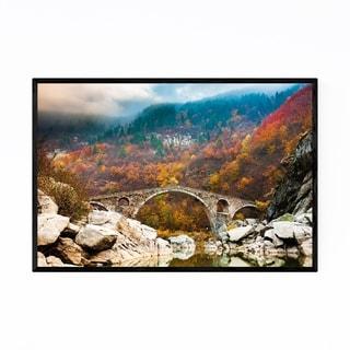 Noir Gallery Bulgaria Forest Landscape Nature Framed Art Print