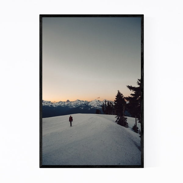 Noir Gallery Mount Baker Ski Area Washington Framed Art Print