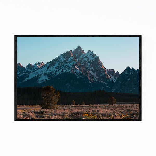 Noir Gallery Grand Tetons Mountains Wyoming Framed Art Print