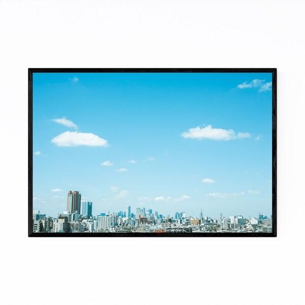 Noir Gallery Tokyo Skyline Japan Cityscape Framed Art Print