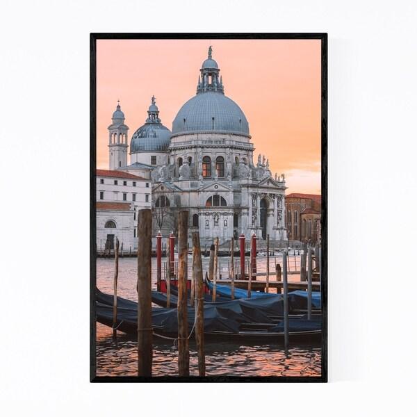 Noir Gallery Venice Italy Basilica of Salute Framed Art Print