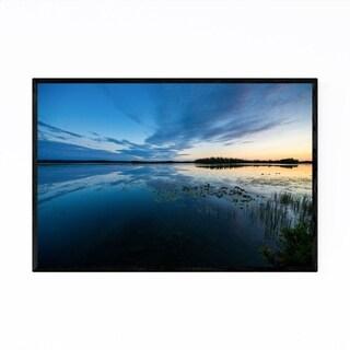 Noir Gallery Kenai Peninsula Lake Alaska Framed Art Print