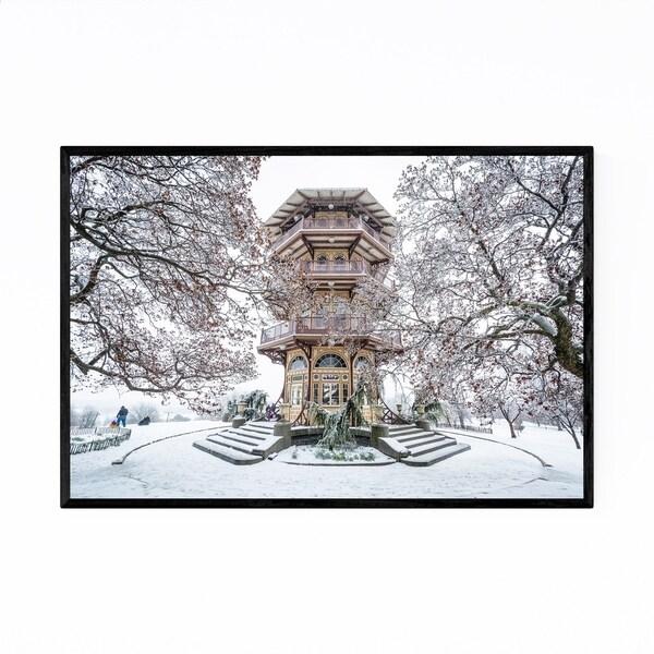 Noir Gallery Baltimore Patterson Park Pagoda Framed Art Print