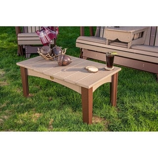 Outdoor Island Coffee Table - Recycled Plastic