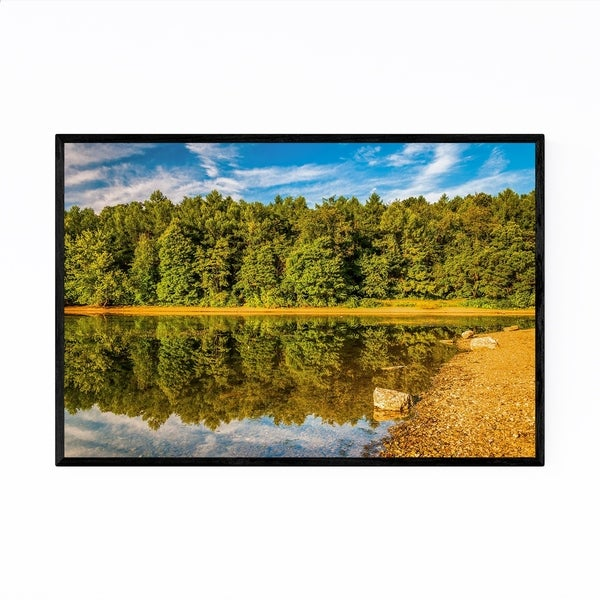 Noir Gallery Pennsylvania Codorus Lake Nature Framed Art Print