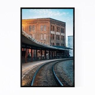Noir Gallery Staunton Virginia Mill Framed Art Print