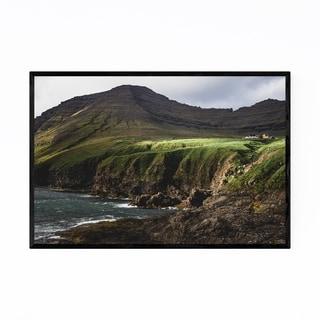 Noir Gallery Faroe Islands Landscape Nature Framed Art Print