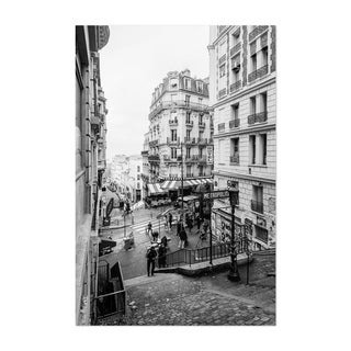 Noir Gallery Black & White Paris France Photo Unframed Art Print/Poster