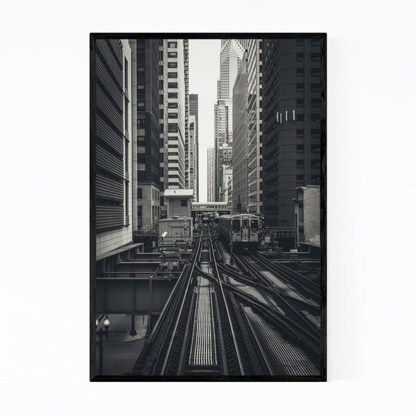 Noir Gallery Chicago Illinois Photography Framed Art Print