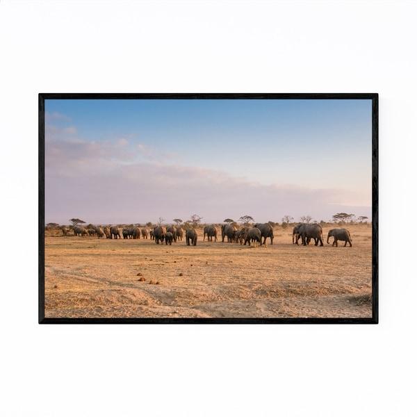 Noir Gallery Amboseli National Park Framed Art Print