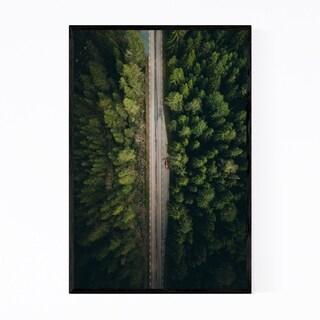 Noir Gallery Sweden Landscape Nature Forest Framed Art Print