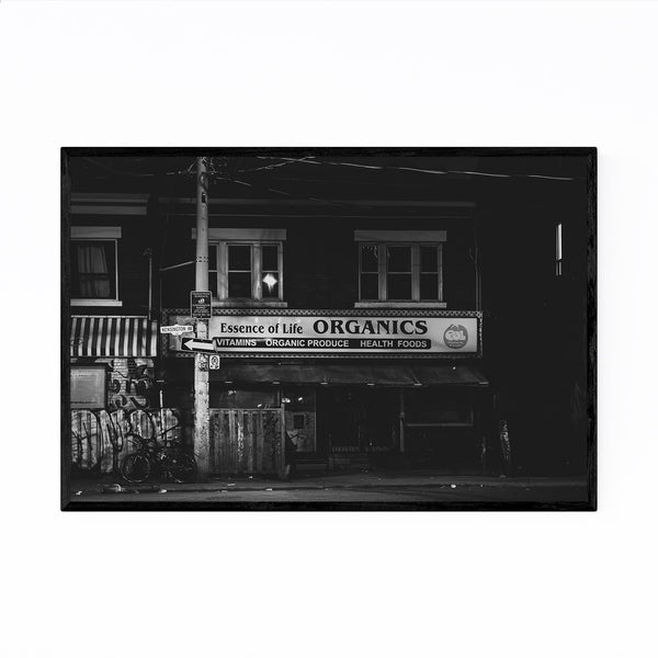 Noir Gallery Kensington Market Toronto Urban Framed Art Print