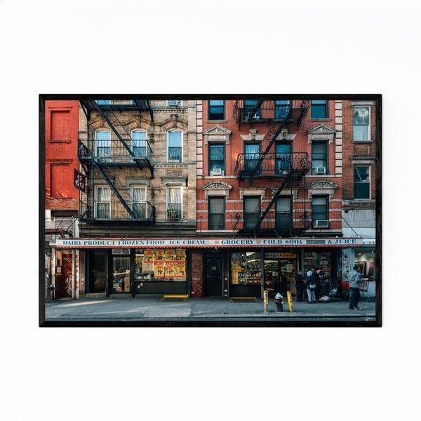 Noir Gallery Lower East Side Manhattan NYC Framed Art Print