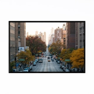 Noir Gallery Morningside Heights New York NYC Framed Art Print