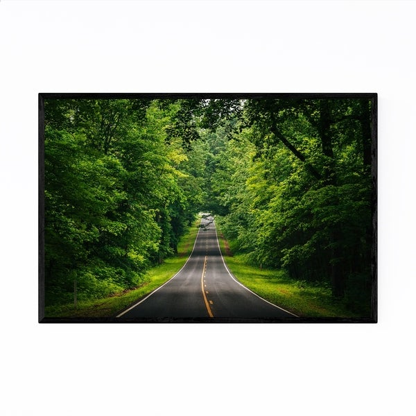 Noir Gallery Skyline Drive Shenandoah VA Framed Art Print