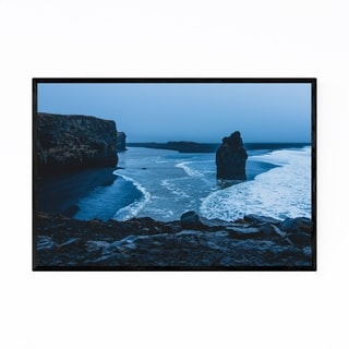 Noir Gallery Iceland Landscape Nature Photo Framed Art Print