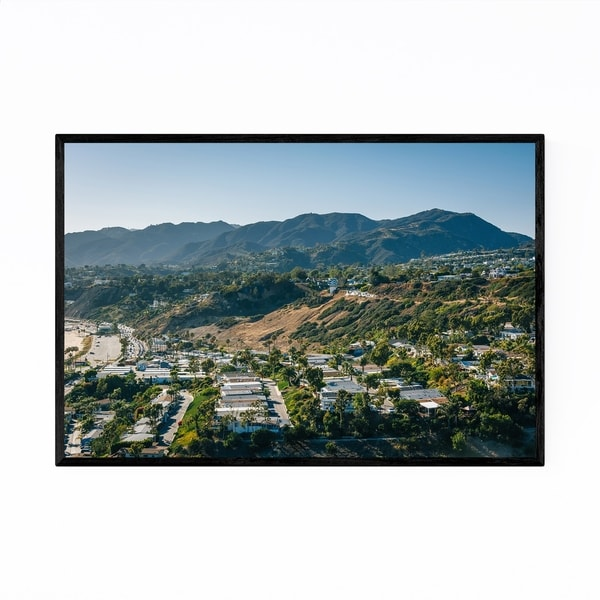 Noir Gallery Pacific Palisades CA Mountains Framed Art Print