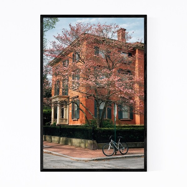 Noir Gallery Providence RI College Hill Urban Framed Art Print