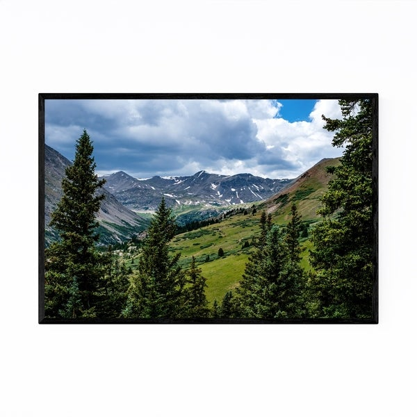 Noir Gallery Colorado Rocky Mountains Nature Framed Art Print