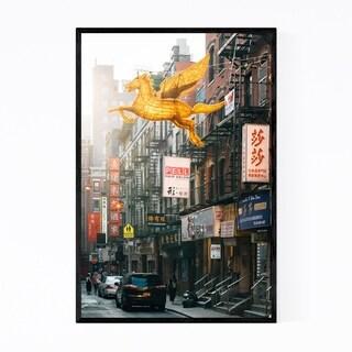 Noir Gallery Chinatown Manhattan New York NYC Framed Art Print
