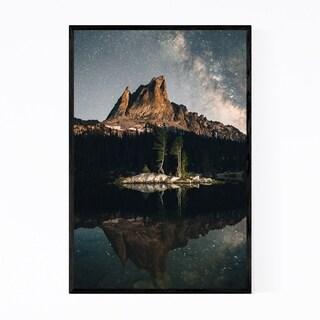 Noir Gallery Sawtooth Mountains Idaho Nature Framed Art Print