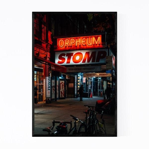 Noir Gallery STOMP Orpheum East Village NYC Framed Art Print