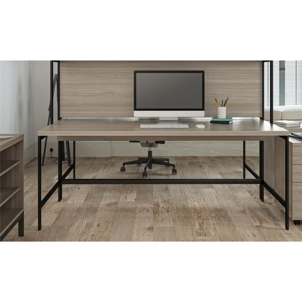 Wondrous Shop Ameriwood Home Parkside Computer Desk Free Shipping Home Interior And Landscaping Ologienasavecom