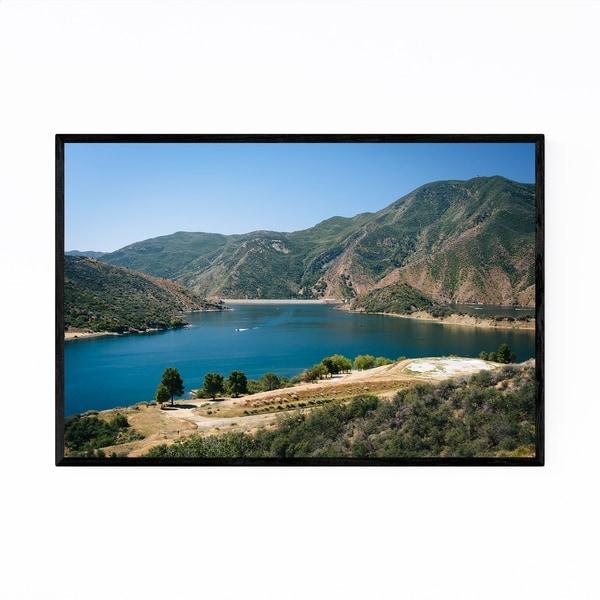 Noir Gallery Pyramid Lake California Desert Framed Art Print