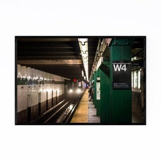 Noir Gallery Subway Station New York City Framed Art Print