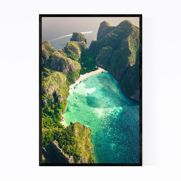 Noir Gallery Phi Phi Thailand Beach Landscape Framed Art Print