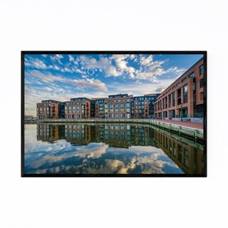 Noir Gallery Waterfront Fells Point Baltimore Framed Art Print