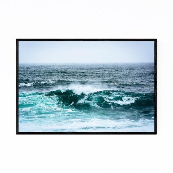 Noir Gallery Big Sur California Ocean Waves Framed Art Print