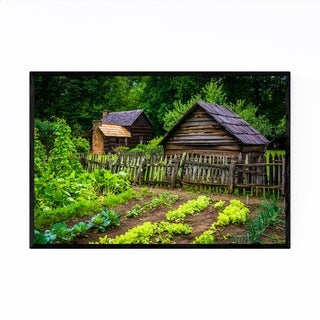 Noir Gallery Great Smoky Mountains Garden Framed Art Print