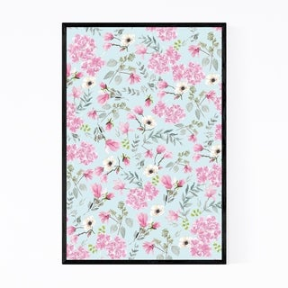 Noir Gallery Watercolor Floral Botanical Framed Art Print