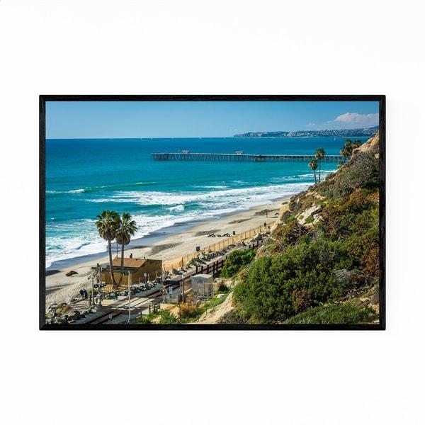 Noir Gallery San Clemente Coastal Beach Framed Art Print