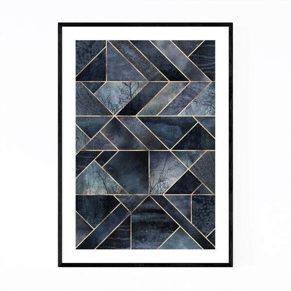 Shop Noir Gallery Black Abstract Nature Geometric Framed Art