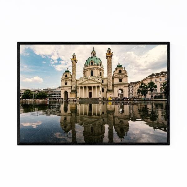 Noir Gallery Karlskirche Vienna Austria Urban Framed Art Print
