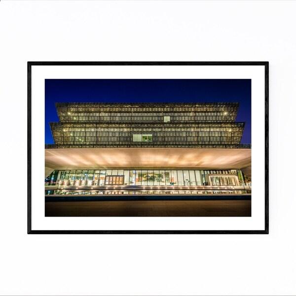 Noir Gallery Washington DC Architecture Photo Framed Art Print