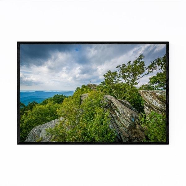Noir Gallery Virginia Shenandoah Mountains Framed Art Print