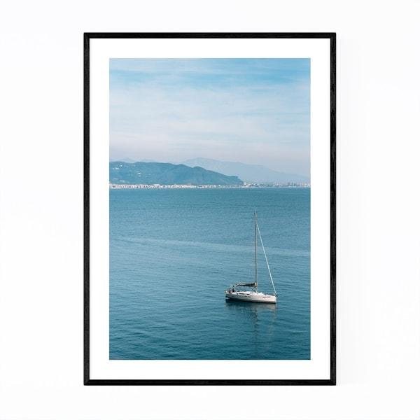 Noir Gallery Cetara Italy Amalfi Coast Photo Framed Art Print