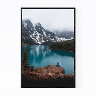 Noir Gallery Moraine Lake Banff Park Alberta Framed Art Print