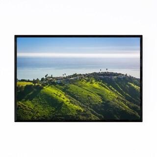 Noir Gallery Laguna Beach California Hills Framed Art Print