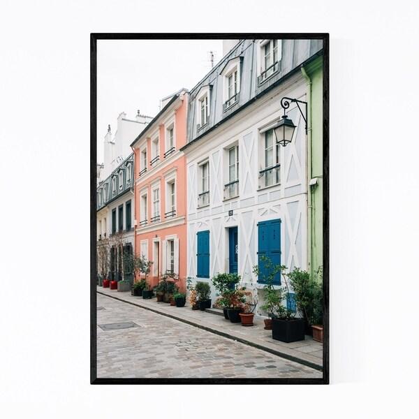 Noir Gallery Rue Cremieux Paris France Color Framed Art Print