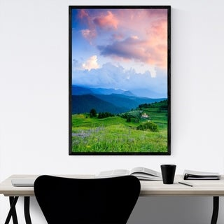 Noir Gallery Bulgaria Mountains Nature Framed Art Print