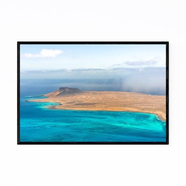 Noir Gallery Canary Islands Spain Desert View Framed Art Print