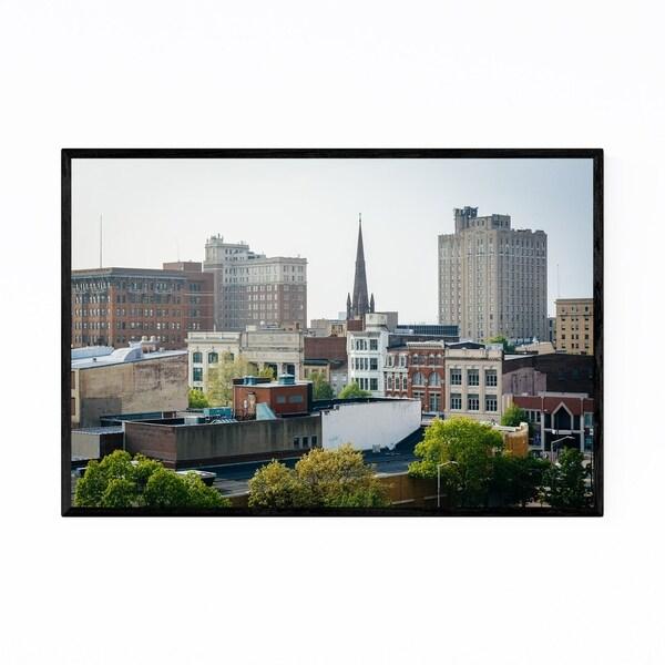 Noir Gallery Reading Pennsylvania City Framed Art Print