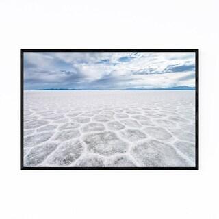 Noir Gallery Salt Flats Bolivia Landscape Framed Art Print
