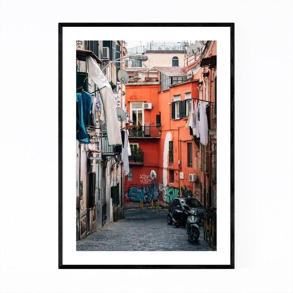 Noir Gallery Naples Italy Graffiti Street Art Framed Art Print